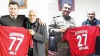 BESNİSPOR'DAN TEKİN VE BAŞ'A HEDİYE FORMA