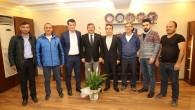 DARICA TÜRKELİSPOR'DAN ŞÜKRÜ KARABACAK'A ZİYARET