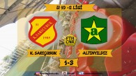 KUMKAPI SARIÇUBUK 1-3 FATİH ALTINYILDIZ U19 LİGİ 2. YARI ÖZETİ