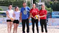 Küçükçekmece'de Plaj Voleybolu Turnuvası Başladı