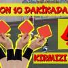 SON 10 DAKİKADA 4 KIRMIZI KART