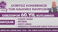 ÇAKIR BAŞKAN'DAN ÇAKI GİBİ KONSER!