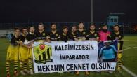 1453 FATİHSPOR'DAN ALKIŞLIK HAREKET