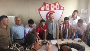 EDİRNESPOR TRANSFER'E ARA VERMİYOR!