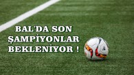 BAL'DA PLAY OFF'A SON TAKIMLAR BEKLENİYOR !