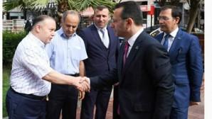 Vali Aksoy'dan Ziyaret