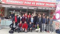 OSMANGAZİ PİDE VE BÖREK SALONUNDAN TÜRKELİSPOR'A JEST