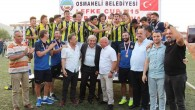 LEFKE CUP U15 2019 FUTBOL TURNUVASINDA ŞAMPİYON FENERBAHÇE