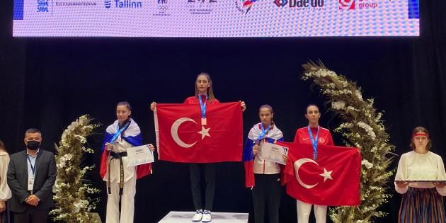 Türk Telekom'un Millî Tekvandocuları  Avrupa Şampiyonu oldu